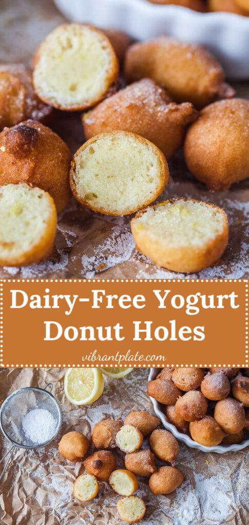 Yogurt Donut Holes Dairy-Free