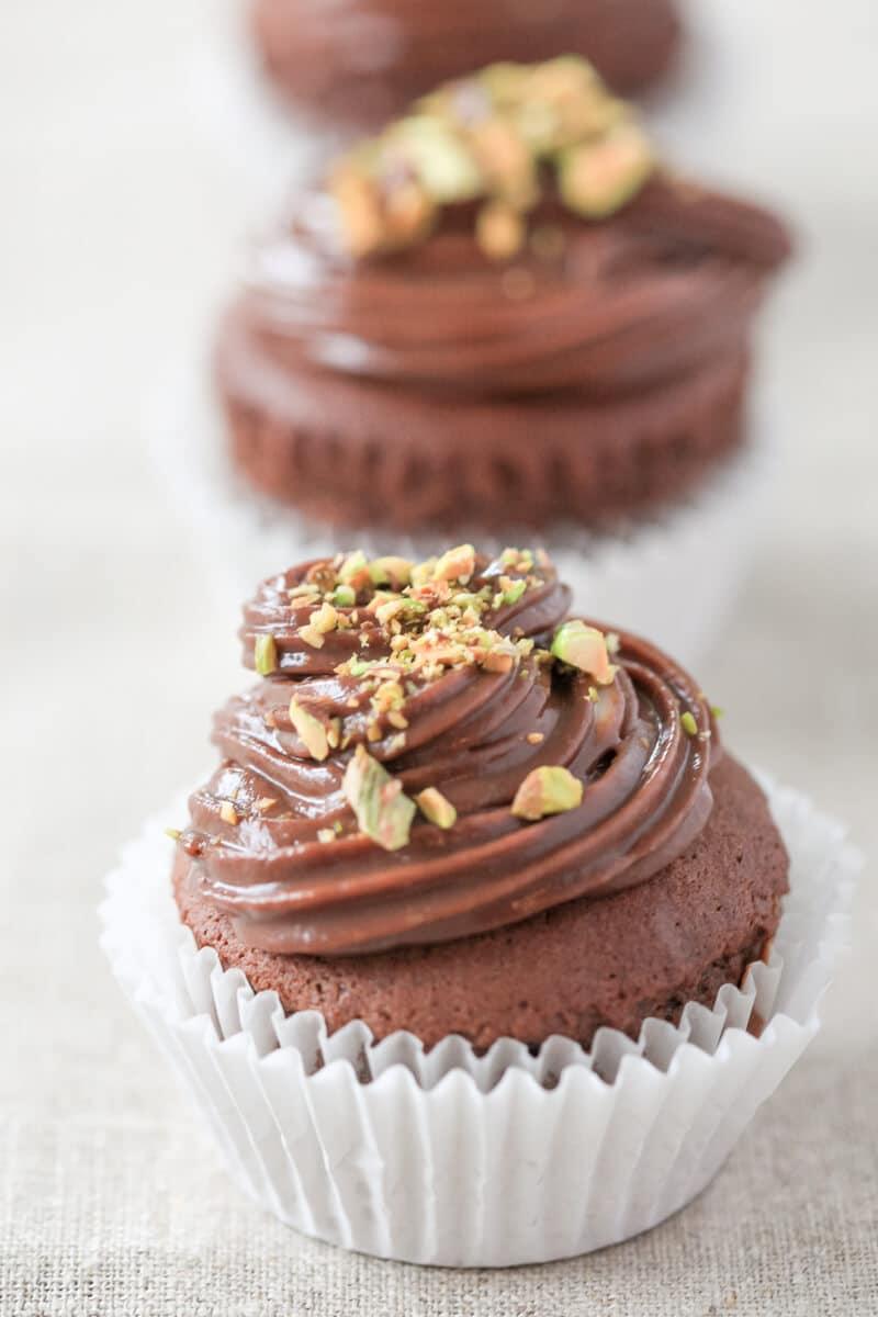 Easy Nutella Cupcakes