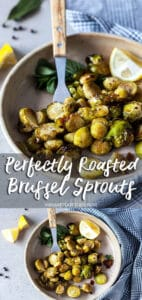 Perfetly Roasted Brussel Sprouts