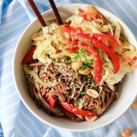 Vegetarian Soba Noodles