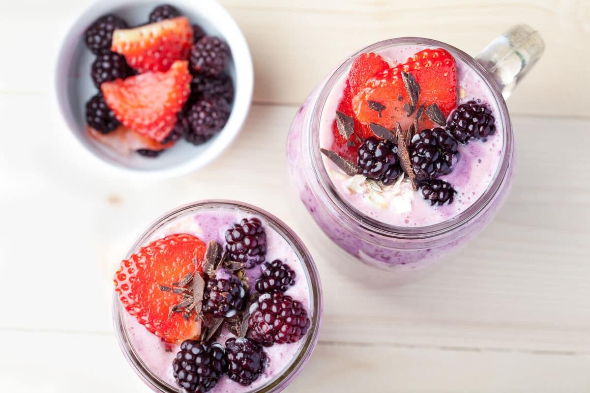 Frozen Berry Smoothie