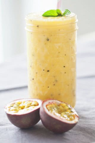 Mango Passion Fruit Smoothie