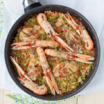 Delicious paella recipe.