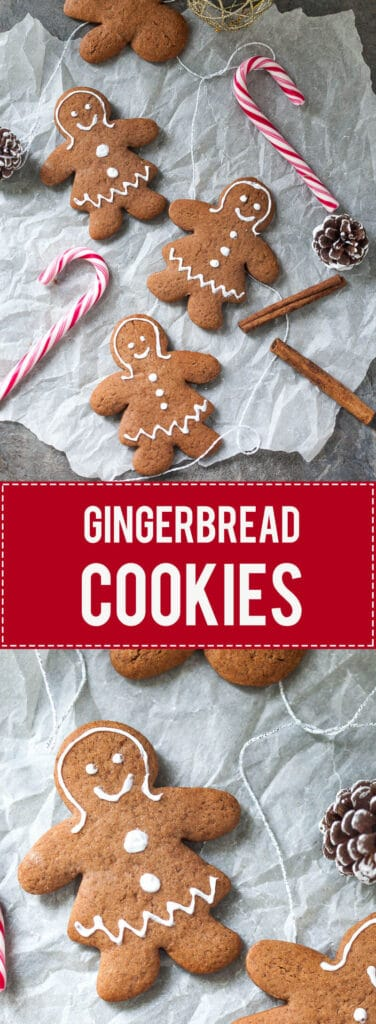 Gingerbread Cookies will infuse your home with the smell of Christmas. Just a couple of ingredients and a couple of minutes to make!