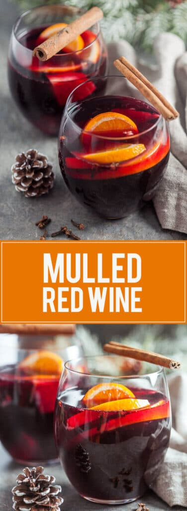 Mulled Red Wine is a Christmas Classic that will warm your heart and soul. Try this 15-minute recipe this Christmas!