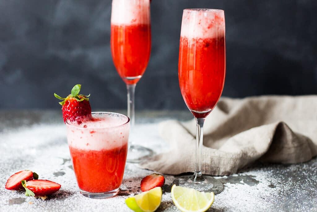 Valentine's Strawberry Champagne