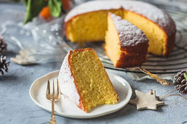 Olive Oil Orange Cake {Dairy-Free}