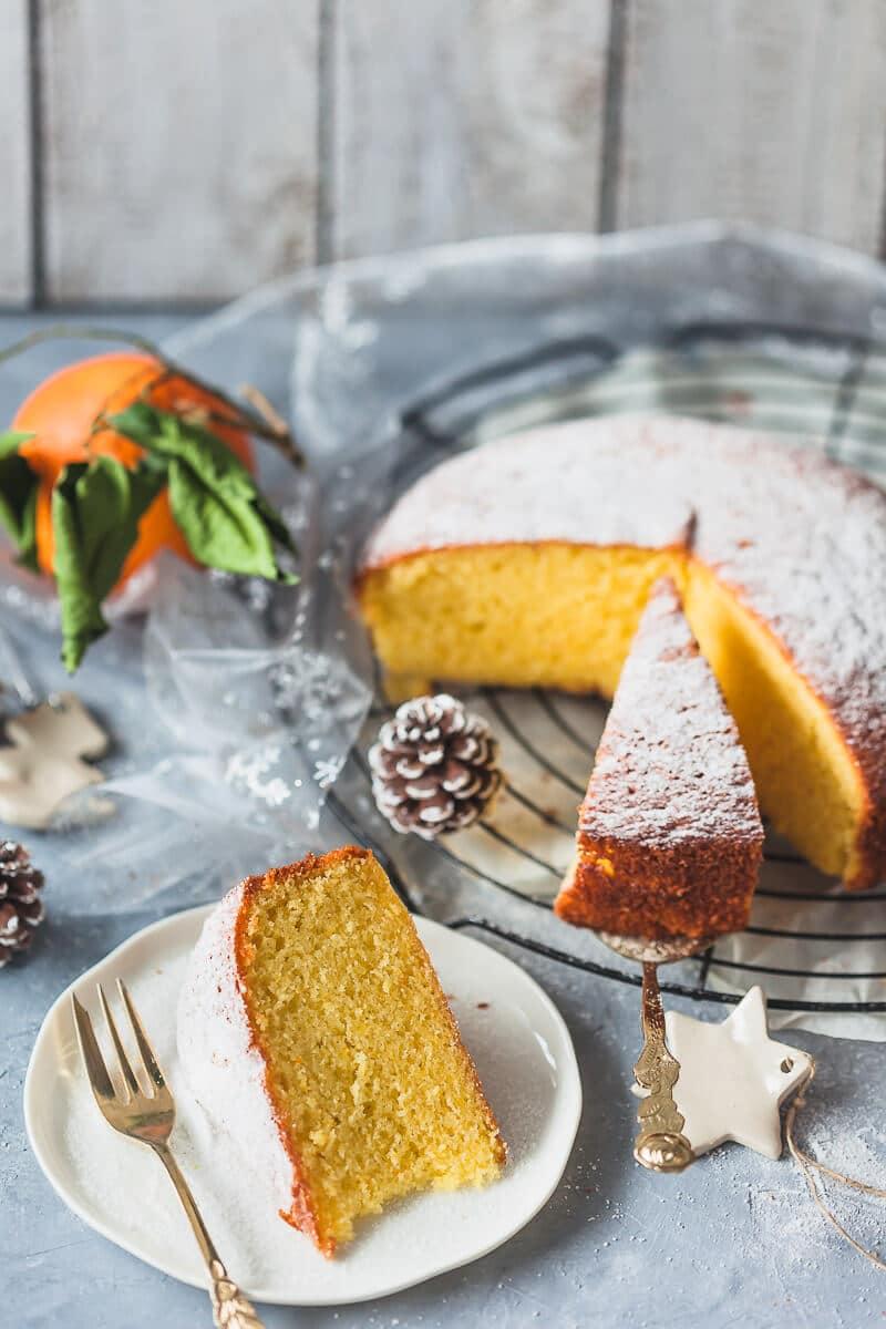 Olive Oil Orange Cake {Dairy-Free}