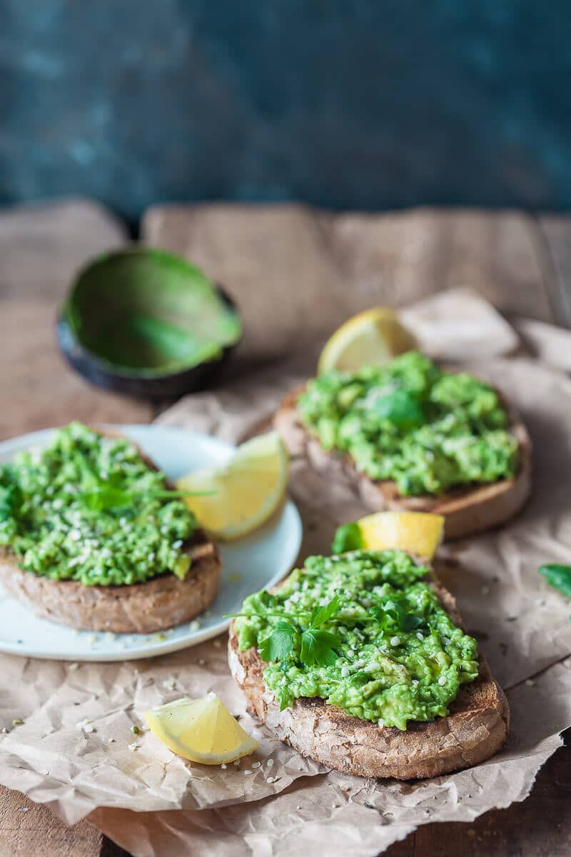 Basic Avocado Toast is a healthy and filling vegan breakfast ready in just 5 minutes!   Vibrant Plate