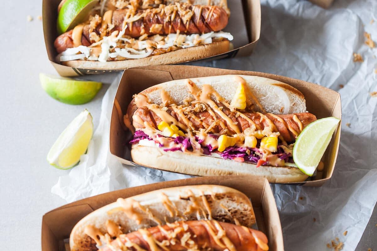 Fun Dairy-Free Hot Dogs 2 Ways
