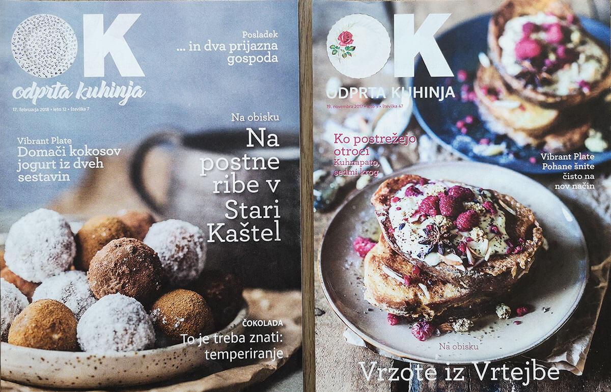 Magazine Cover Odprta Kuhinja