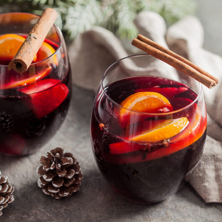 Heartwarming Mulled Red Wine