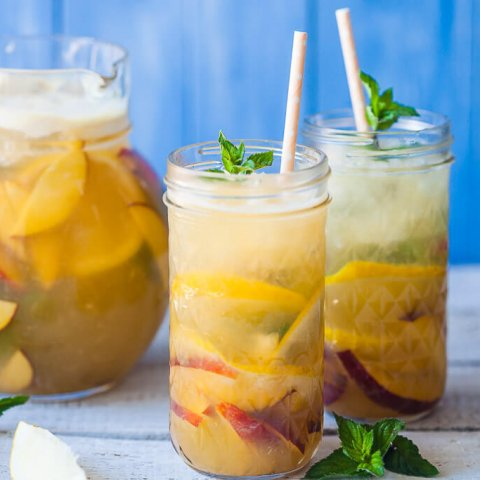 Summer Peach Lemonade