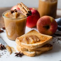 Fermented Probiotic Vegan Apple Butter