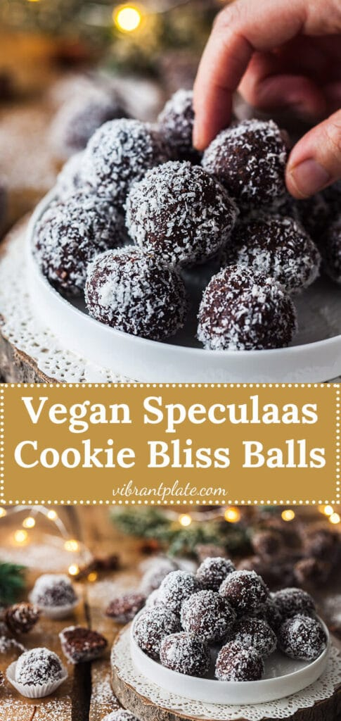 Speculaas Cookie Bliss Balls