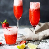 Valentine's Strawberry Champagne