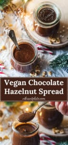 Vegan Chocolate Hazelnut Spread Vegan Nutella