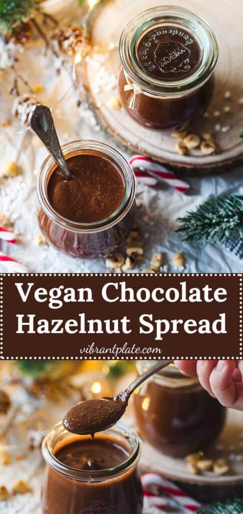 Vegan Chocolate Hazelnut Spread Vegan Nutella