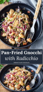 Pan-fried Gnocchi with Radicchio and Bacon