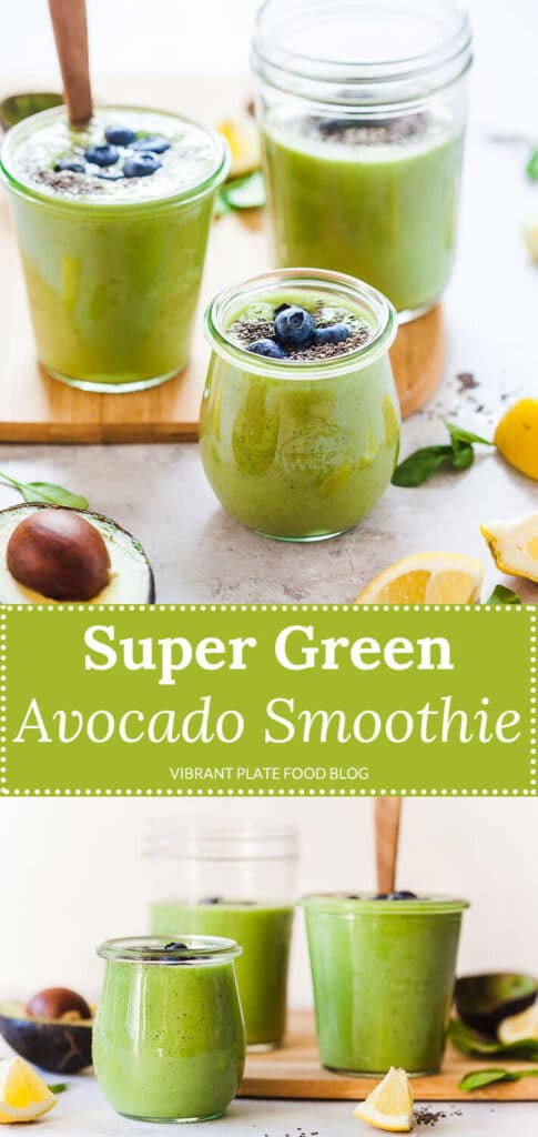 Super Green Avocado Smoothie