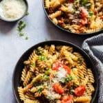 Vegan Lentil Bolognese Pasta