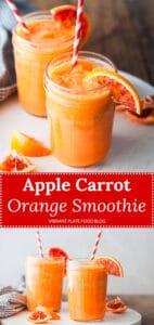 Apple Carrot Orange Smoothie