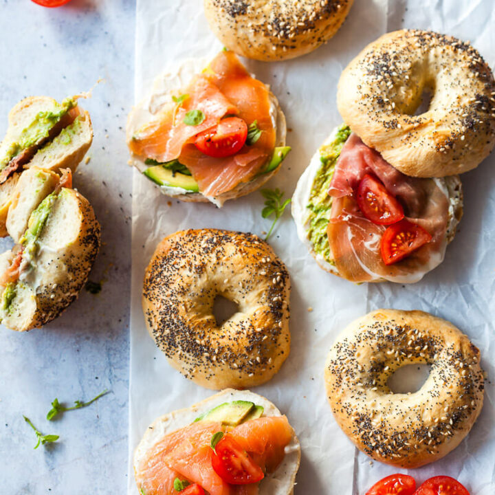 Easy Homemade Bagels {Dairy-Free}