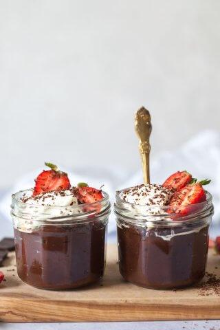 Vegan Chocolate Avocado Pudding