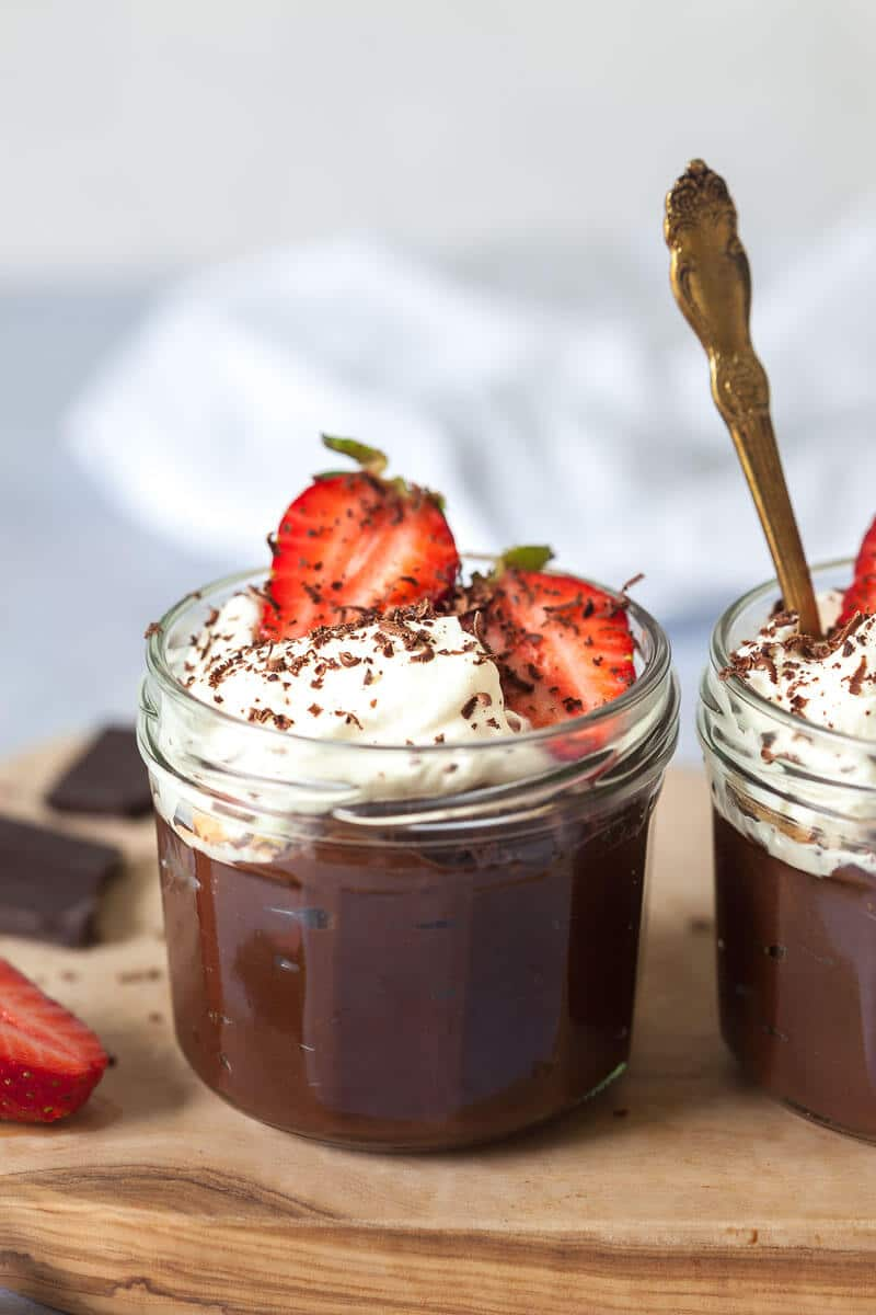 Vegan Chocolate Avocado Pudding