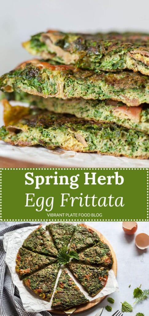 Spring Herb Egg Frittata