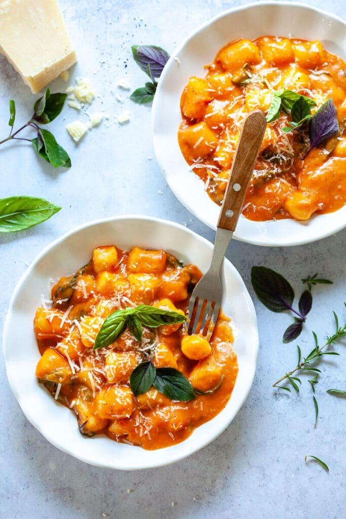 Gnocchi in Cherry Tomato Sauce