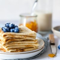 Easy Homemade Dairy-Free Crepes