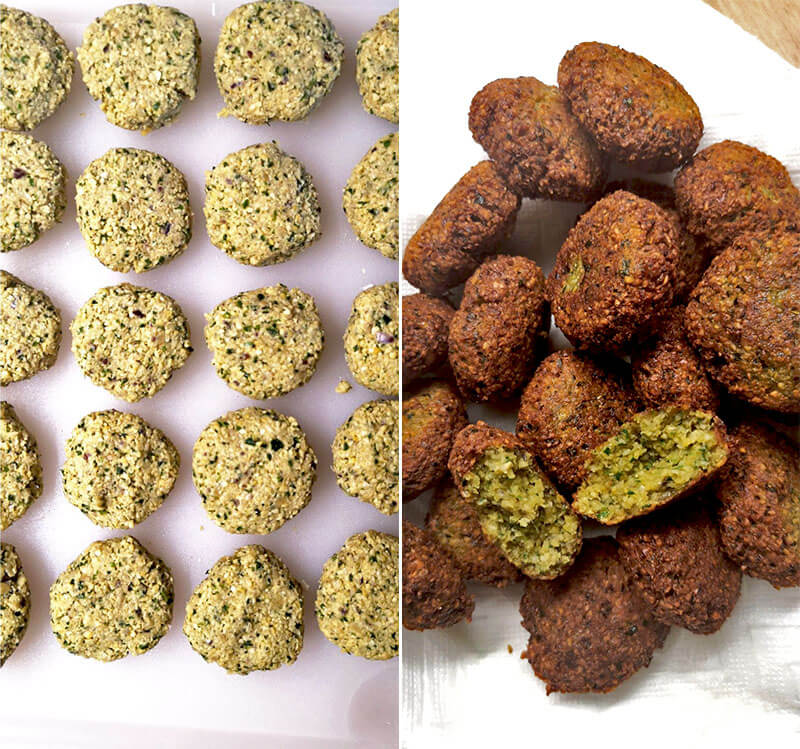 how to make falafel from scratch