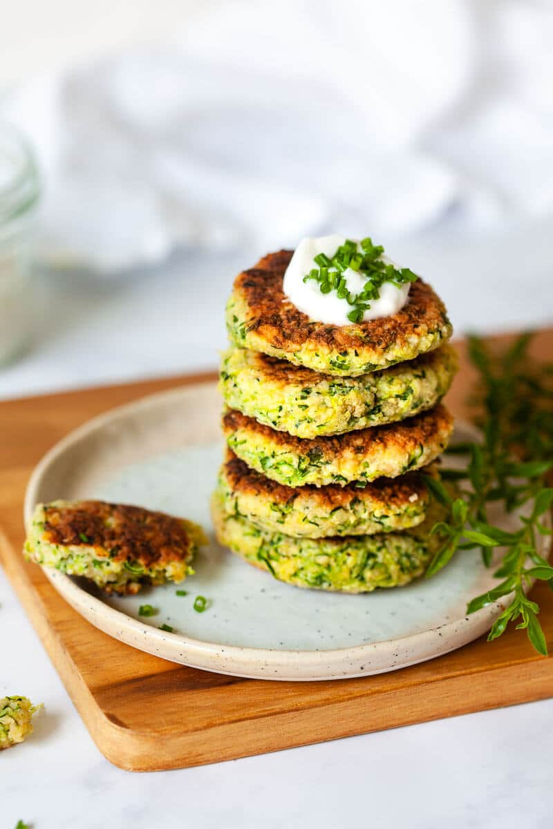 Tasty Millet Zucchini Fritters