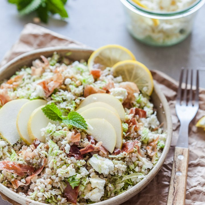 Buckwheat And Brussels Sprout Salad