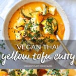 Vegan Thai Yellow Tofu Curry