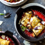 Vegan Eggplant Involtini