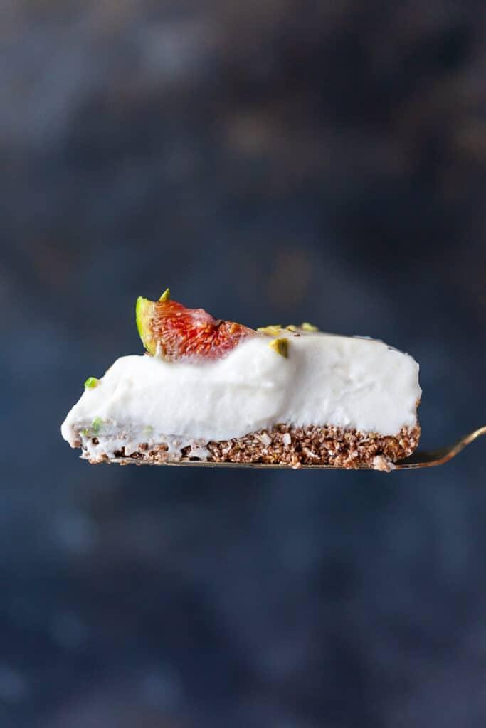 Salted Caramel Fig Vegan Cake