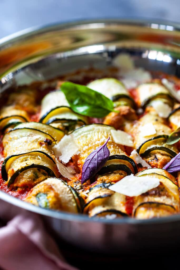 Vegan Zucchini Involtini