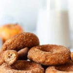 Vegan Baked Apple Cider Donuts