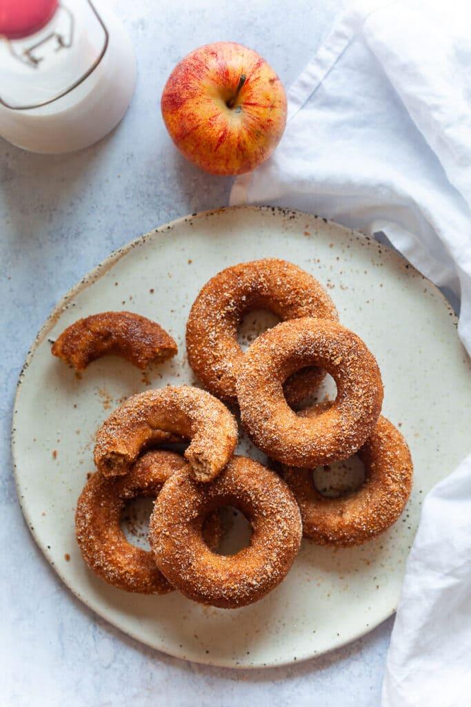 Vegan Baked Apple Cider Donuts