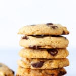 Vegan Chocolate Chip Cookies Stack