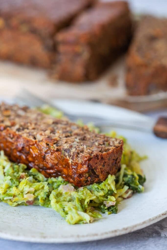 Easy Vegan Lentil Loaf