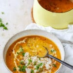 Vegan Red Lentil Curry Soup
