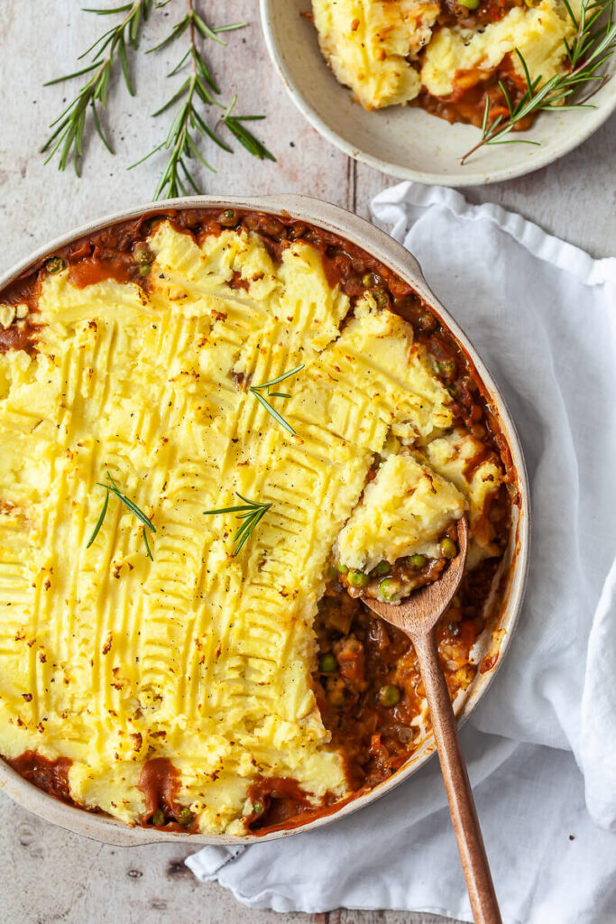 Vegan Lentil Shepherd's Pie
