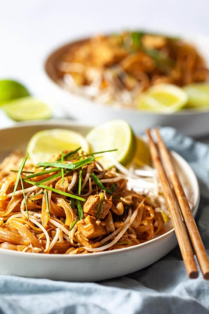Easy Vegan Tofu Pad Thai