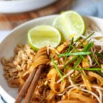 Easy Vegan Tofu Pad Thai