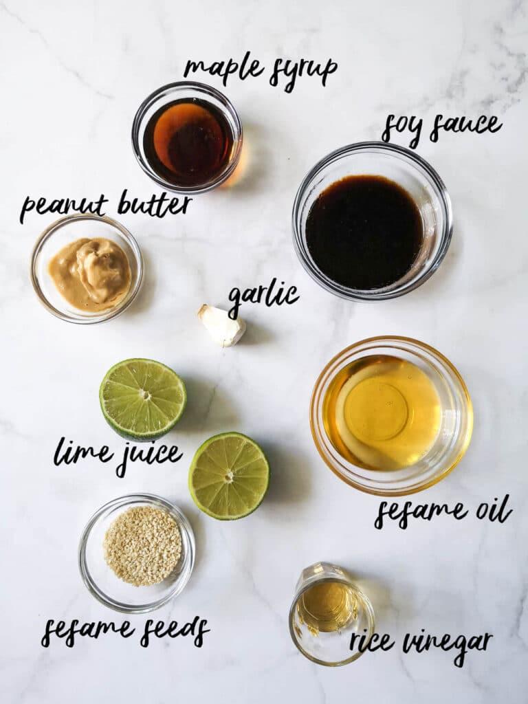 Spring Roll Noodle Bowl Sauce Ingredients