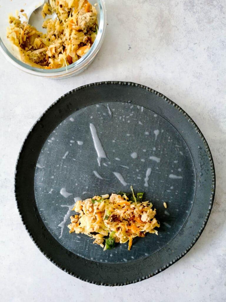 Pan-Fried Tofu Spring Rolls Ingredients
